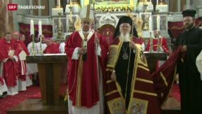 Video «Papst Franziskus besucht Istanbul» abspielen