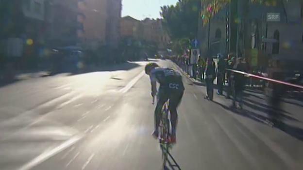 Video «Die Sanremo-Bilanz von Fabian Cancellara» abspielen