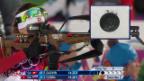 Video «Biathlon: Sprint 7,5km Frauen, Selina Gasparin (sotschi direkt, 9.2.2014)» abspielen