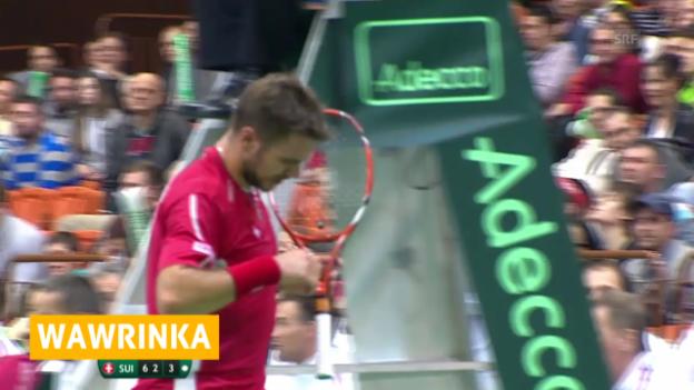 Video «Tennis: Stanislas Wawrinka verzichtet auf Rotterdam («sportaktuell», 04.02.2014)» abspielen