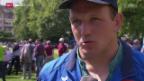Video «Schwingen: Die Rückkehr von Bruno Gisler» abspielen