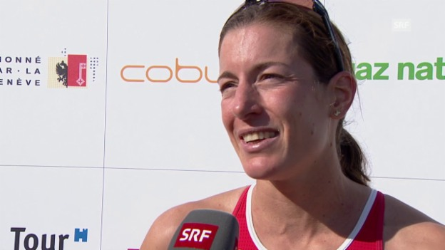 Video «Triathlon: EM Genf, Nicola Spirig im Interview» abspielen