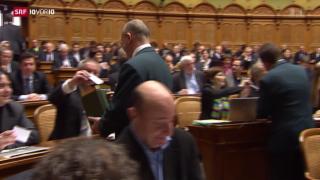 Video «FOKUS: Schafft Widmer-Schlumpf die Wiederwahl?» abspielen