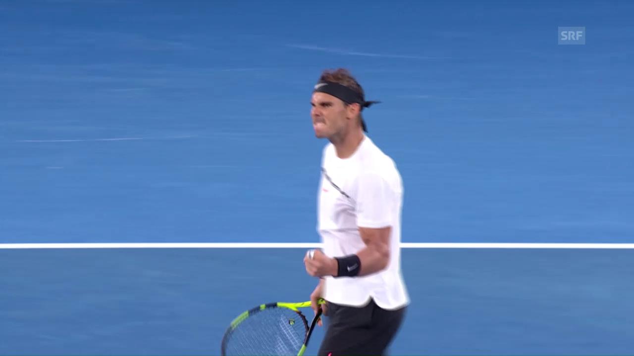 Live-Highlights Nadal - Monfils