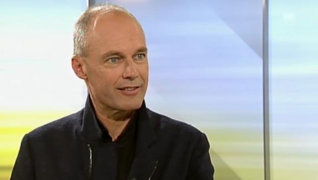 Video «Interview mit Bertrand Piccard vom 15.9.2013» abspielen