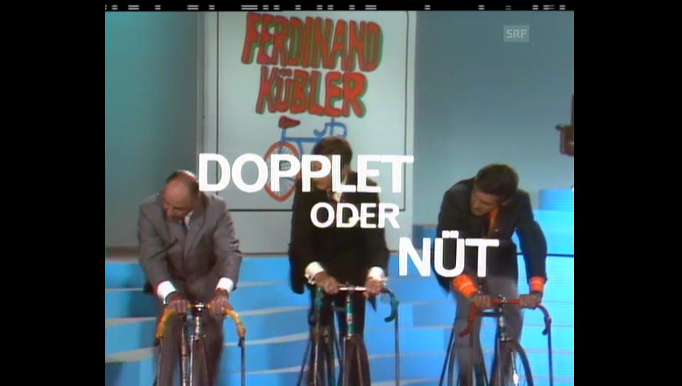 Dopplet oder nüt, Quiz mit Mäni Weber