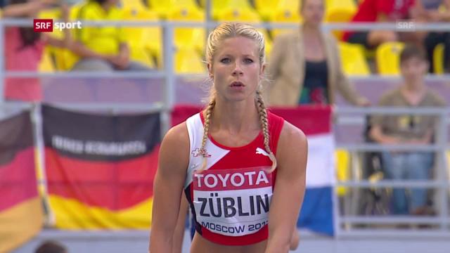 LA-WM: Starke Schweizerinnen im Siebenkampf («sportaktuell»)