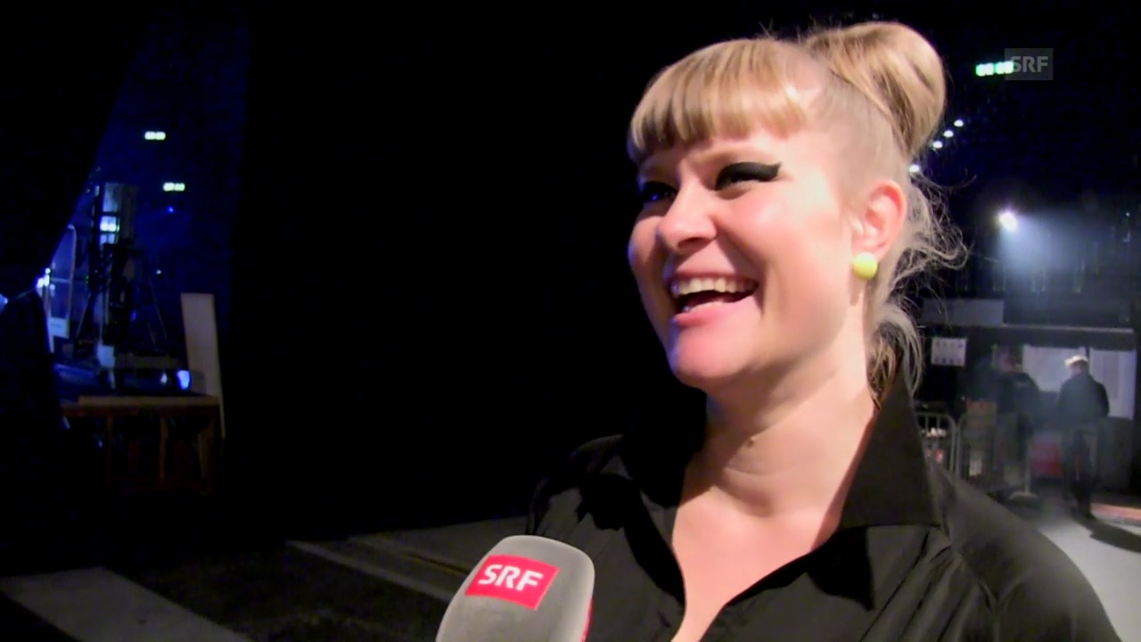 Nicole Bernegger über Coach Stress