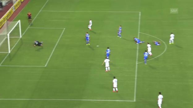 Video «Fussball: Europa League, Limassol-FCZ (2:2 durch Yapi)» abspielen