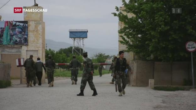 Video «Anschlag der Taliban auf Militärbasis» abspielen