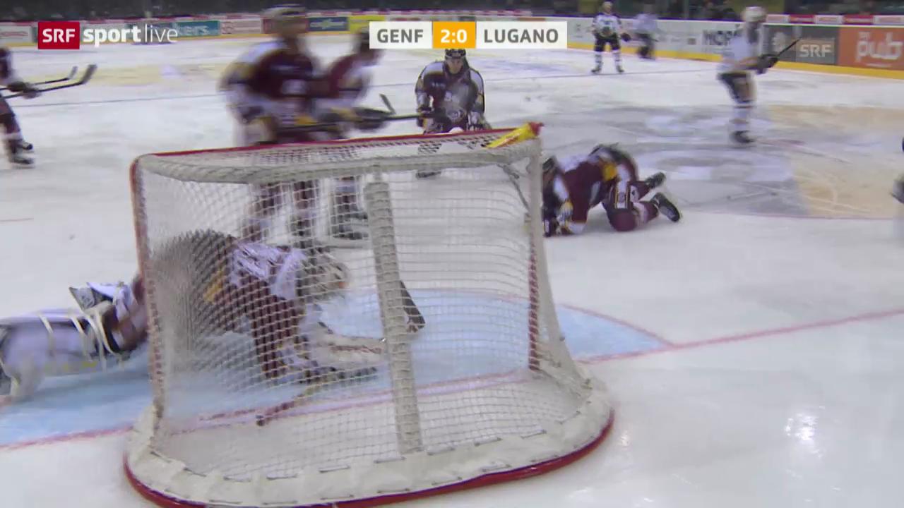 Eishockey: Zusammenfassung Genf-Servette - Lugano («sportlive», 11.03.2014)