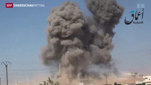 Video «Erste Erfolge der US-Luftschläge» abspielen