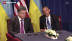 Video «Symbolisches Treffen in Warschau» abspielen