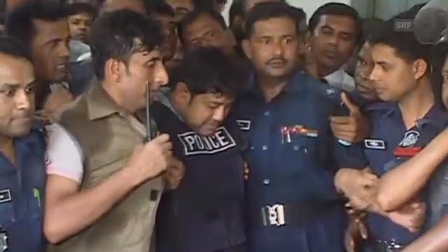 Bangladesch: Gebäudebesitzer in Polizeigewahrsam