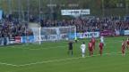 Video «Fussball: Zürich schlägt Baden im Cup» abspielen