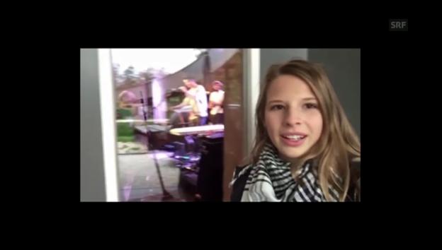 Video «Angéline Behind the Scenes bei Nickless» abspielen