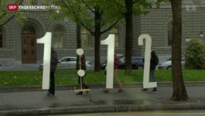 Video «Endspurt in der 1:12-Initiative» abspielen