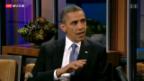 Video «Obama sagt Treffen mit Putin ab» abspielen