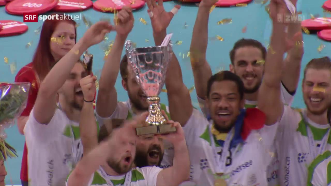 Näfels bleibt im Volleyball-Cup eine Macht