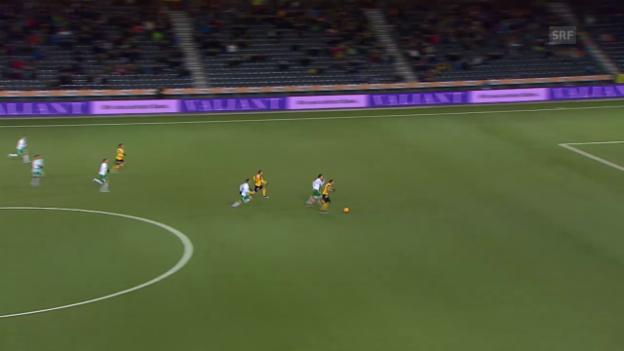 Video «Fussball: Super League, 17. Runde, YB - St. Gallen» abspielen