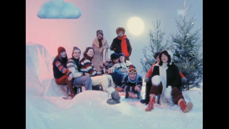 1979: «Kassensturz»-Redaktion singt «Jingle Bells»