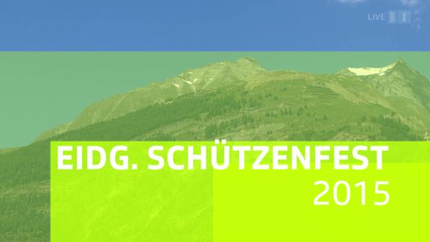 Video «Eidg. Schützenfest 2015: Festumzug in Visp» abspielen