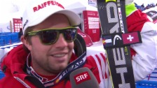 Video «Ski: WM Beaver Creek, Abfahrt Männer, Interview mit Beat Feuz» abspielen