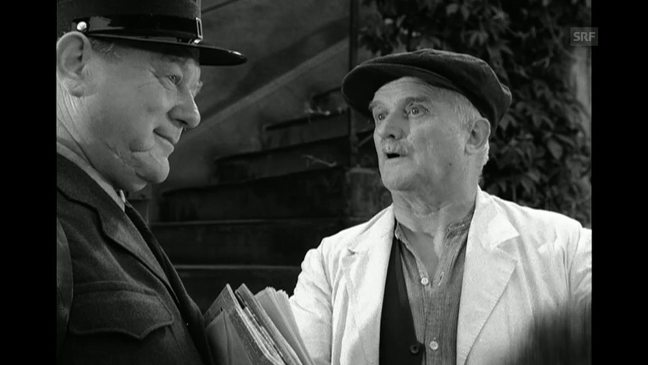«Oberstadtgass», 1956 (Filmausschnitt)