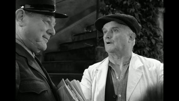 Video ««Oberstadtgass», 1956 (Filmausschnitt)» abspielen
