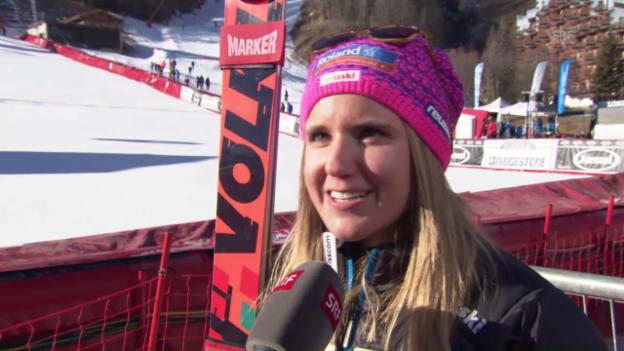Video «Joana Hählen: «Mochte Val d'Isère bis jetzt nicht»» abspielen