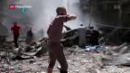 Video «Syrien-Gespräche auf Messers Schneide» abspielen