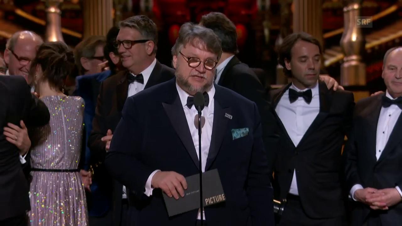 «Shape of Water» gewinnt den Oscar für den besten Film