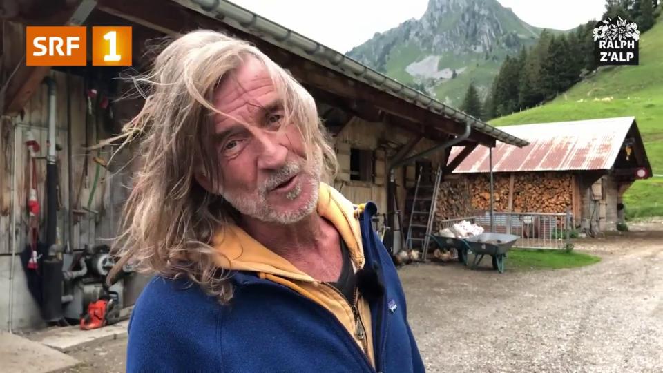 Ralph Wicki zeigt die Alp Morgeten