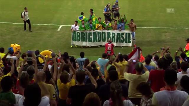 Fussball: Tahiti verabschiedet sich am Confed Cup von den Fans