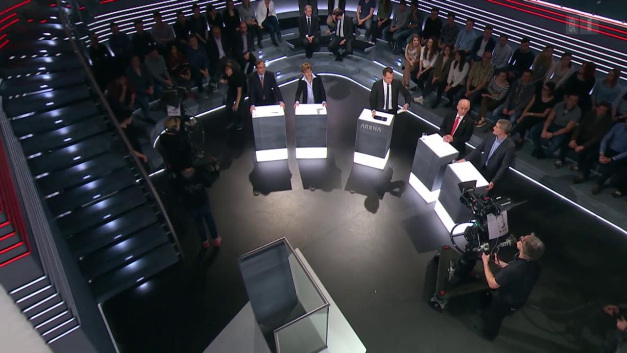 Abstimmungs-Arena: Initiative gegen Heiratsstrafe
