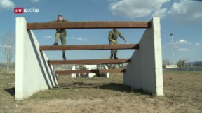 Video «Kosovo will eine eigene Armee» abspielen