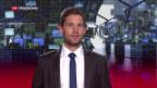 Video «Euro steigt zum Franken über 1,10 CHF» abspielen