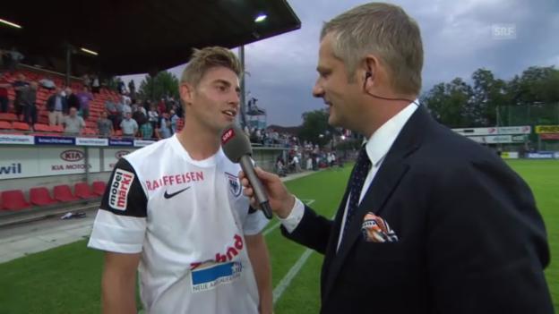Video «SL: Remo Staubli im Interview» abspielen