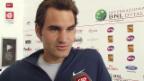 Video «Tennis: Federer vor dem Auftakt in Rom» abspielen