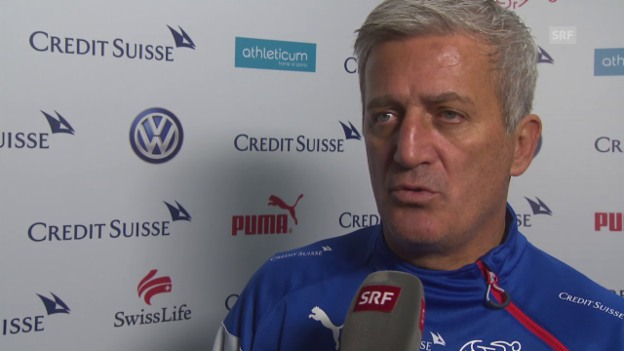 Video «Fussball: Nati, Interview mit Vladimir Petkovic» abspielen