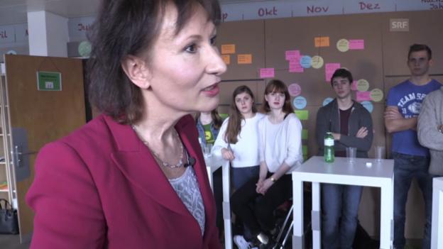Video ««Mint»-CEO-Treffen: BKW-Chefin Suzanne Thoma im «Verhör»» abspielen