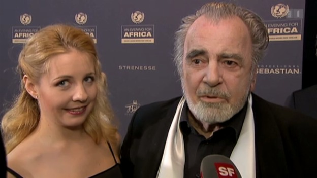 Video «Maximilian Schell heiratet seine Iva» abspielen