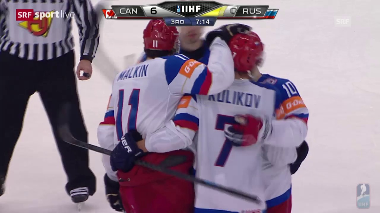 Eishockey: WM-Final 2015, 6:1, Malkin