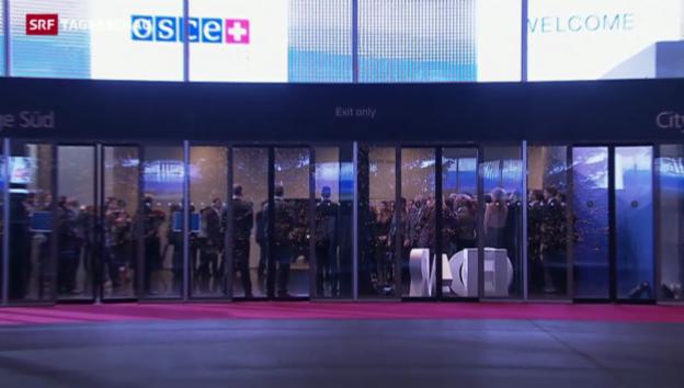 Video «Nichts Greifbares an der OSZE-Konferenz» abspielen