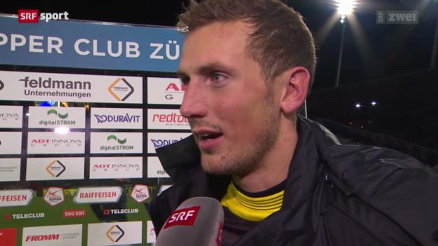 Video «Fussball: Reaktionen zu GC - YB» abspielen
