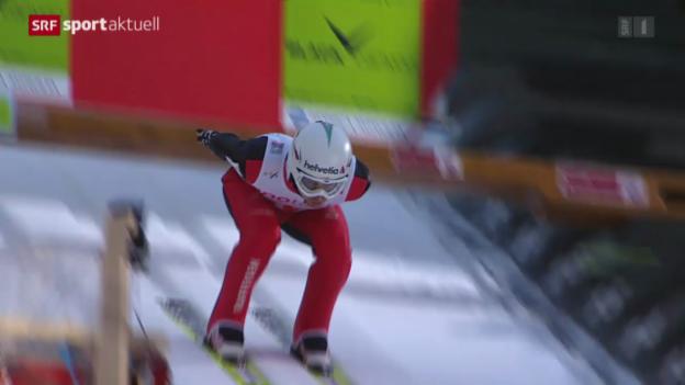 Video «Skispringen: Weltcup in Willingen» abspielen