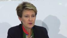 Video «Die Schweiz wird sich für einen permanenten Verteilschlüssel einsetzen» abspielen