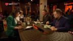 Video «Achtung scharf! Unsere Gäste essen koreanisch» abspielen