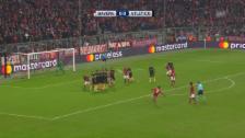 Video «Lewandowskis Freistoss-Tor gegen Atletico» abspielen