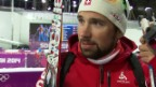 Video «Biathlon: Mixed-Staffel, Interview Benjamin Weger (sotschi direkt, 19.02.2014)» abspielen